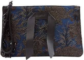N°21 N21 Blue Cloth Clutch Bag