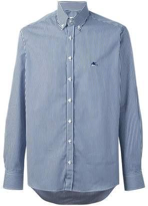 Etro pinstriped button down shirt