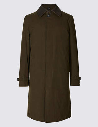 M&S Collection LuxuryMarks and Spencer Cotton Blend Trench Coat with Stormwear