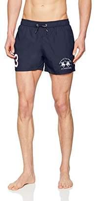 9478366292 La Martina Men's Man Swimwear Nylon Shorts,S