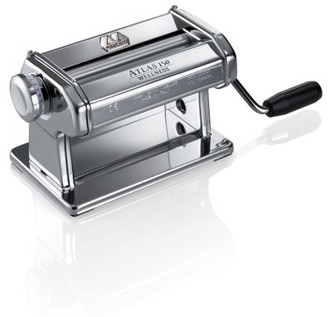 Marcato Atlas Pasta Dough Roller, Silver, Includes 150-Millimeter Roller with Hand Crank and Instructions