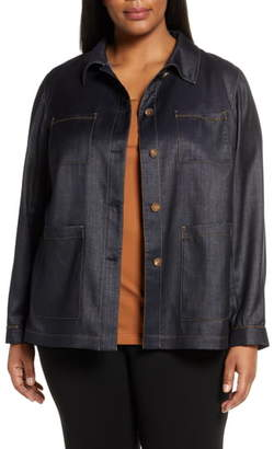 Lafayette 148 New York Esmeralda Mercantile Cloth Jacket