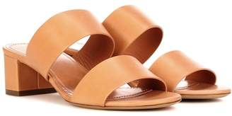 Mansur Gavriel 40mm Double Strap leather sandals