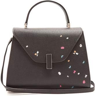Valextra Iside medium floral-print grained-leather bag