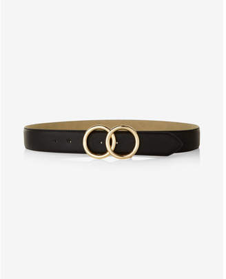 Express Double O-ring Belt $39.90 thestylecure.com