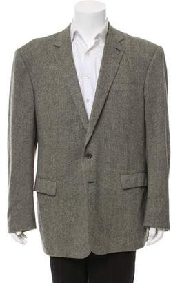 Ralph Lauren Black Label Herringbone Two-Button Jacket