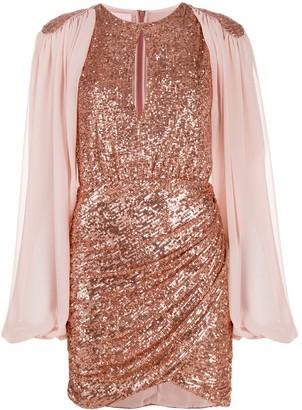 Giamba sequin embroidred dress