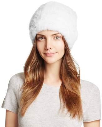 Maximilian Furs Knit Mink Fur Hat - 100% Exclusive
