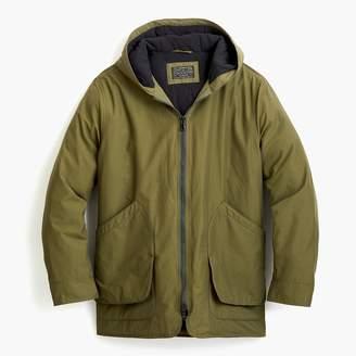 J.Crew Fleece-lined hooded jacket