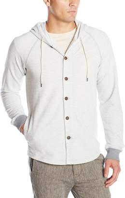 UNIONBAY Men's French Terry Cardigan Hoodie