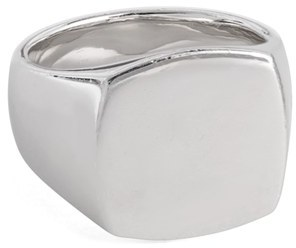 Women's Tom Wood Polished Cushion Ring $333 thestylecure.com