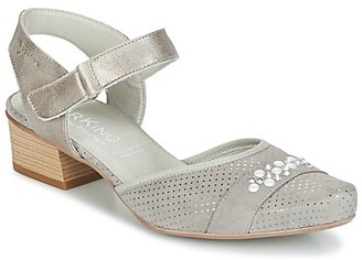 Dorking TUCAN women's Sandals in Grey