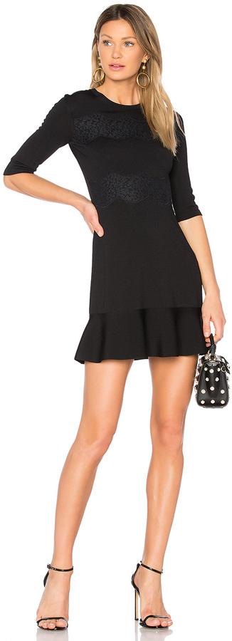 RED ValentinoRed Valentino Short Sleeve Mini Dress
