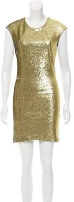 Kimberly Ovitz Sequined Mini Dress