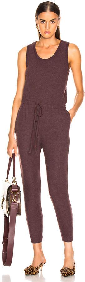 Sleeveless Drawcord Jumpsuit