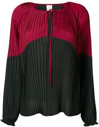 Pinko pleated blouse