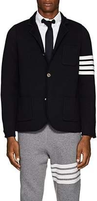 Thom Browne Men's Wool Three-Button Sportcoat - Navy