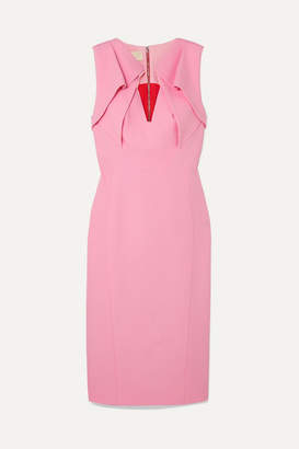 Antonio Berardi Folded Crepe Dress - Pink