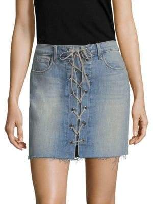 L'Agence Portia Lace-Up Skirt