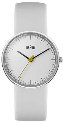 Braun Women's BN0021WHWHL Classic Analog Display Quartz Watch