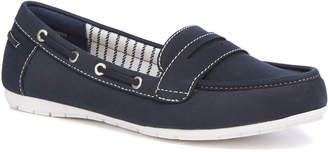 Tu Clothing Sole Comfort Navy Boat Shoes