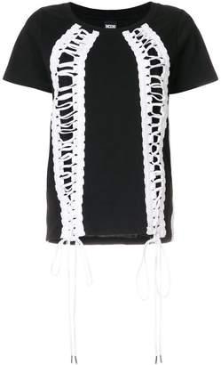Kokon To Zai lace-up T-shirt