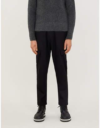 Selfridges Barena Venezia Cropped stretch-wool tapered trousers