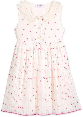 Blueberi Boulevard Polka Dot Print Dress, Toddler & Little Girls (2T-6X) $42 thestylecure.com