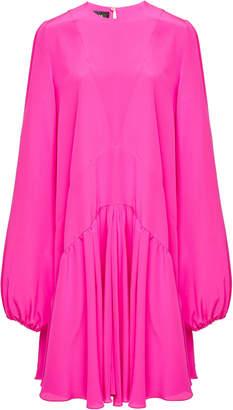 Rochas Ordito Silk-Crepe Dress