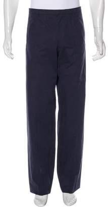 Giorgio Armani Flat Front Woven Pants