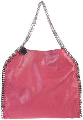 Stella McCartney Falabella Small Double Chain Faux Leather Tote