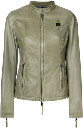 Blauer fitted zipped jacket