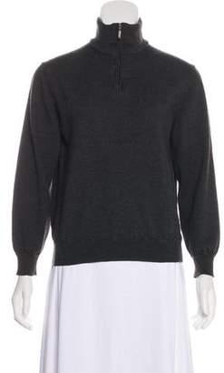Saks Fifth Avenue Long Sleeve Wool Sweater