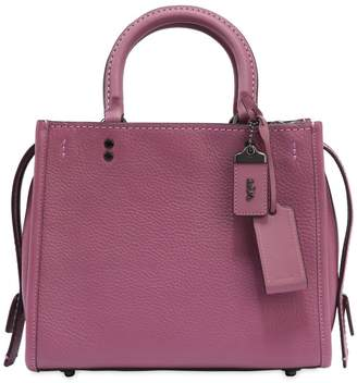 Coach Rogue Textured Leather Bag