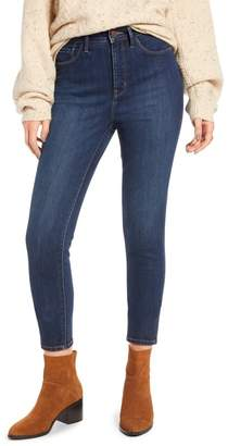 Treasure & Bond Charity High Waist Ankle Skinny Jeans (Rain Dark Vintage)