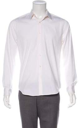 Theory Woven Button-Up Shirt