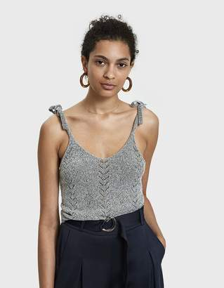 Stelen Deon Boucle Knit Tank in Grey
