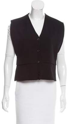Marni Knit Button-Up Vest
