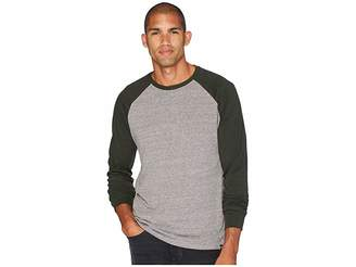 Threads 4 Thought Tri-Blend Long Sleeve Contrast Raglan Tee