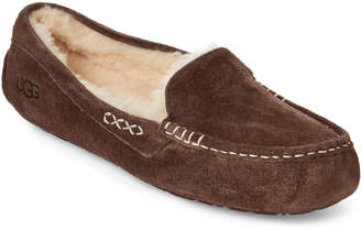UGG Chocolate Ansley Moccasin Slippers