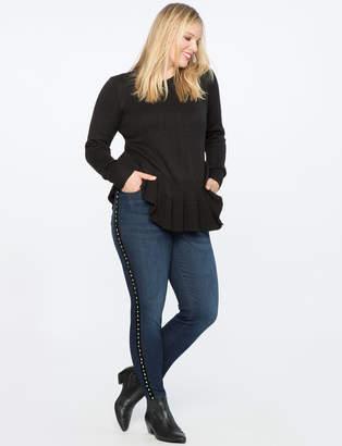 Embellished Side Stripe Jean