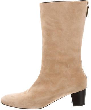 Balenciaga Balenciaga Suede Mid-Calf Boots