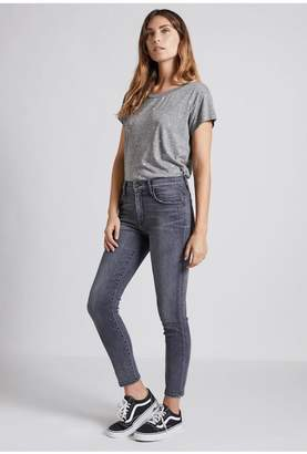 Current/Elliott Current Elliott Grey Skinny Jeans
