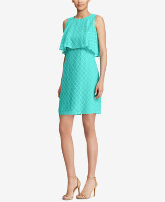 American Living Sleeveless Jacquard Dress