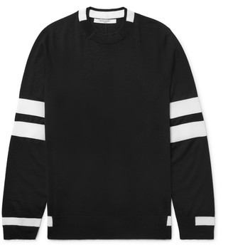 Givenchy Striped Wool Sweater $685 thestylecure.com