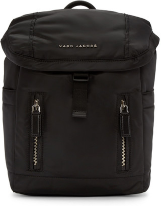 Marc Jacobs Black Mallorca Backpack $295 thestylecure.com