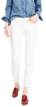 Women's J.crew Toothpick Jeans $98 thestylecure.com