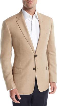 Armani Collezioni Hopsack Wool Sport Coat