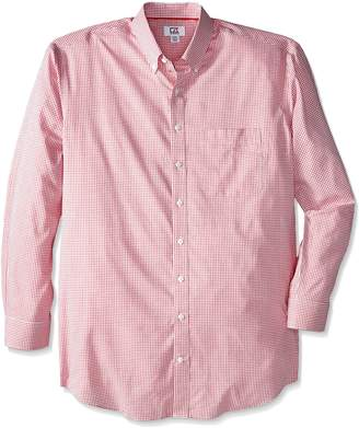 Cutter & Buck Men's Big-Tall Long Sleeve Epic Easy Care Tattersall Shirt