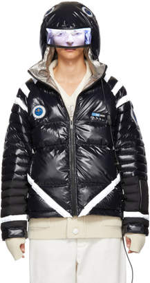 Undercover Black Down Astronaut Puffer Jacket
